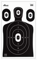 EHOMEA2Z 25 Pack Shooting Target for Range BB Airsoft Pistols Gun Rifle