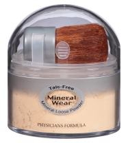 Physicians Formula Mineral Wear Talc-Free Loose Powder, Translucent Light, 0.49 oz.