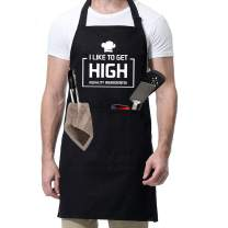 Grill Apron for Dad - Daddio of The Patio - Dad Gifts from Daughter Son,Dad Apron for Grilling BBQ