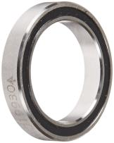 """RBC JHA10XL0 Thin Section Ball Bearing, Sealed, 4-Point Contact X-Type, 1"""" Bore x 1.375"""" OD x 0.25"""" Width"""