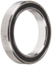"RBC JHA10XL0 Thin Section Ball Bearing, Sealed, 4-Point Contact X-Type, 1"" Bore x 1.375"" OD x 0.25"" Width"