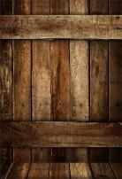 AOFOTO 6x8ft Vintage Wooden Fence Background Old Wood Plank Photography Backdrop Kid Adult Boy Girl Baby Artistic Portrait Nostalgic Photoshoot Studio Props Video Drape Wallpaper