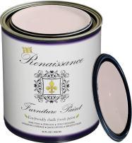 Retique It Chalk Finish Paint by Renaissance - Non Toxic, Eco-Friendly Chalk Furniture & Cabinet Paint - 32 oz (Quart), Cherry Blossom