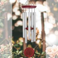 ASTARIN Sympathy Wind Chimes Outdoor Large Deep Tone,36 Inch Memorial Windchime Unique Outdoor Tuned Soothing Melody, Remembrance Wind Chimes for Mom Father,Engraved