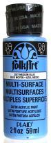 FolkArt Multi-Surface Paint in Assorted Colors (2 oz), 2927, Medium Blue