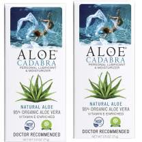 Aloe Cadabra Organic Personal Lubricant: Natural Vaginal Moisturizer (2 Pack)