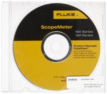Fluke SW90W FlukeView ScopeMeter Software, For 190 and 120 Series