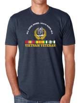 Vietnam Veteran All Gave Some, 58,479 Gave All T-Shirt (Navy Blue, Medium)