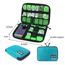 Universal Cable Organizer Bag for Travel and Houseware Storage Lectronics Accessories Cord Tablet Handbag Pouch
