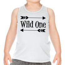 Wild One First Birthday Outfit Boy 1st Birthday Tank Top