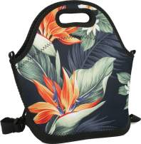 Mens/Womens/Kids Bird of Paradise Lunch Tote Bag Insulated Lunch Box for Camping/School/Picnic/Boating/Beach