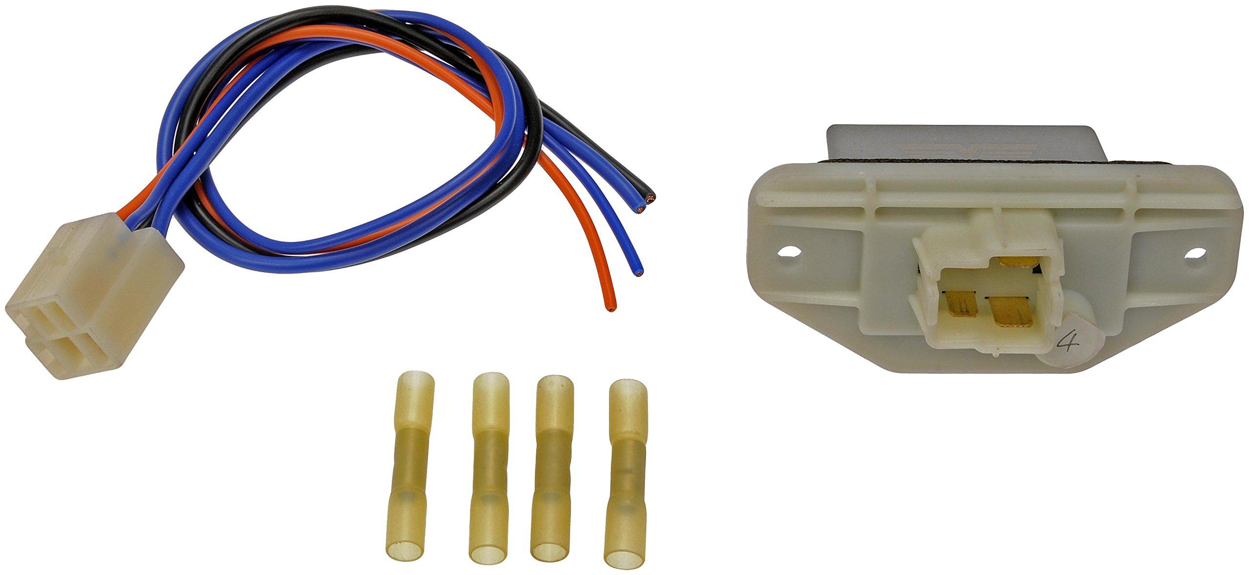 Dorman 973-547 HVAC Blower Motor Resistor Kit with Harness