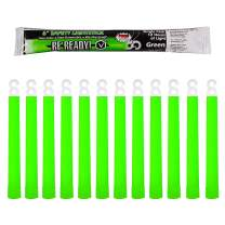 Be Ready - Industrial 12 Hour Illumination Emergency Safety Chemical Light Glow Sticks (24 Pack Green)