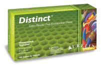 "Aurelia Distinct Latex Glove, Powder Free, 9.4"" Length, 5 mils Thick, X-Large (Pack of 100)"