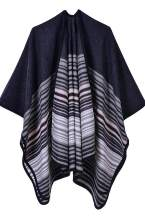 Women's Poncho Cape Shawl Cardigans Open Front Leopard Print Blanket Shawls and Wraps
