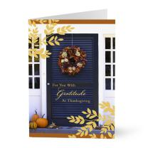 Hallmark Business Thanksgiving Cards for Customers (Welcoming Front Door) (Pack of 25 Greeting Cards)