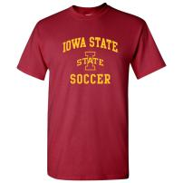 NCAA Arch Logo Soccer, Team Color T Shirt, College, University