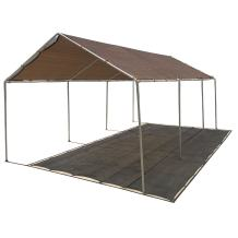 Alion Home Carport Canopy Replacement Permeable Sun Shade Cover High Peak (Frame Not Included) (12' X 20' fits 10' x 20' Frame, Mocha Brown)