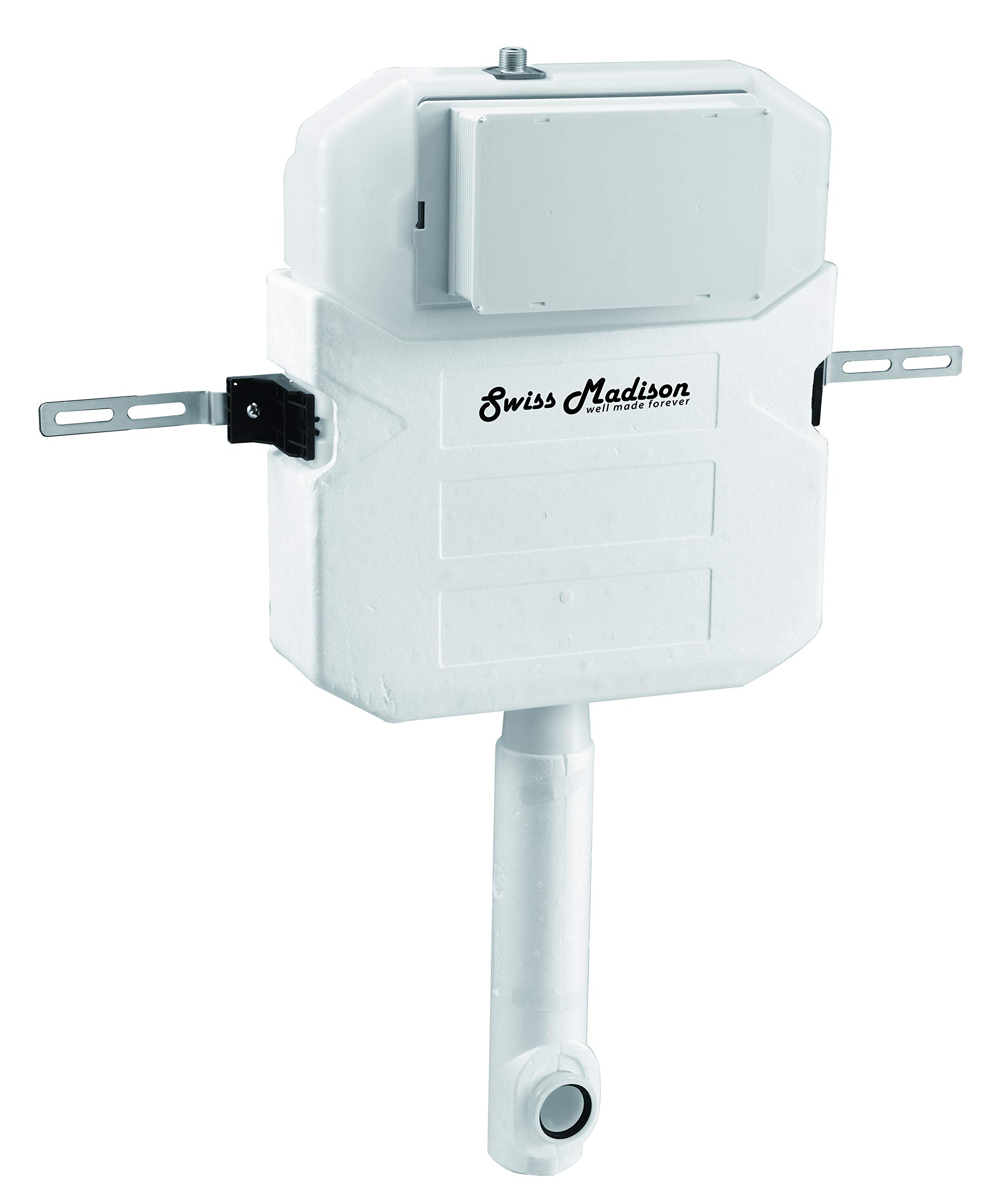 Swiss Madison Well Made Forever SM-WC326 Toilet Tank Carrier, For 2 x 6 Commercial Studs, White