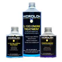 Microlon CL100 High Performance Engine Kit Treatment for 6-8 Cylinder Engine