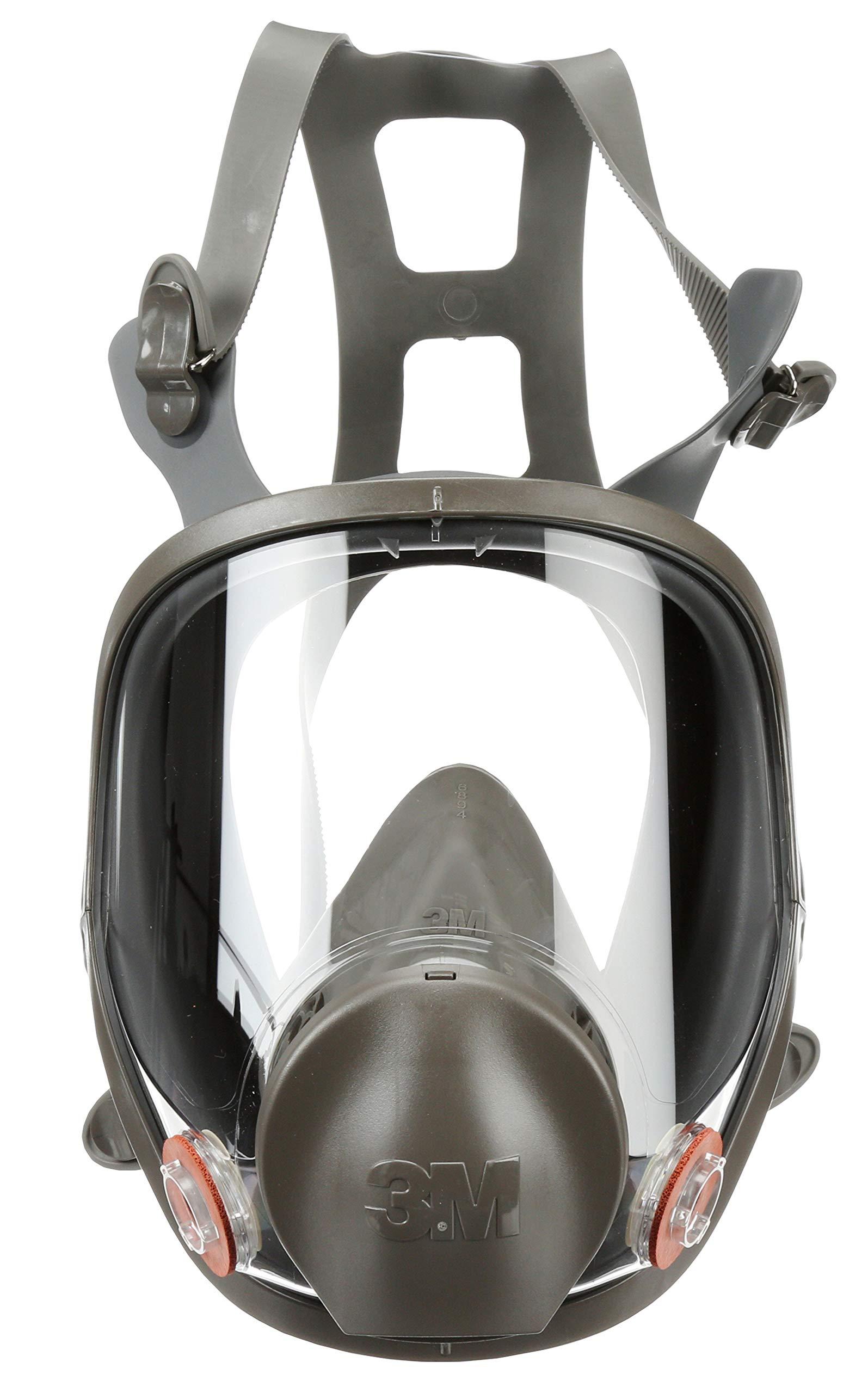 3M Full Facepiece Reusable Respirator 6900, Paint Vapors, Dust, Mold, Chemicals, Large