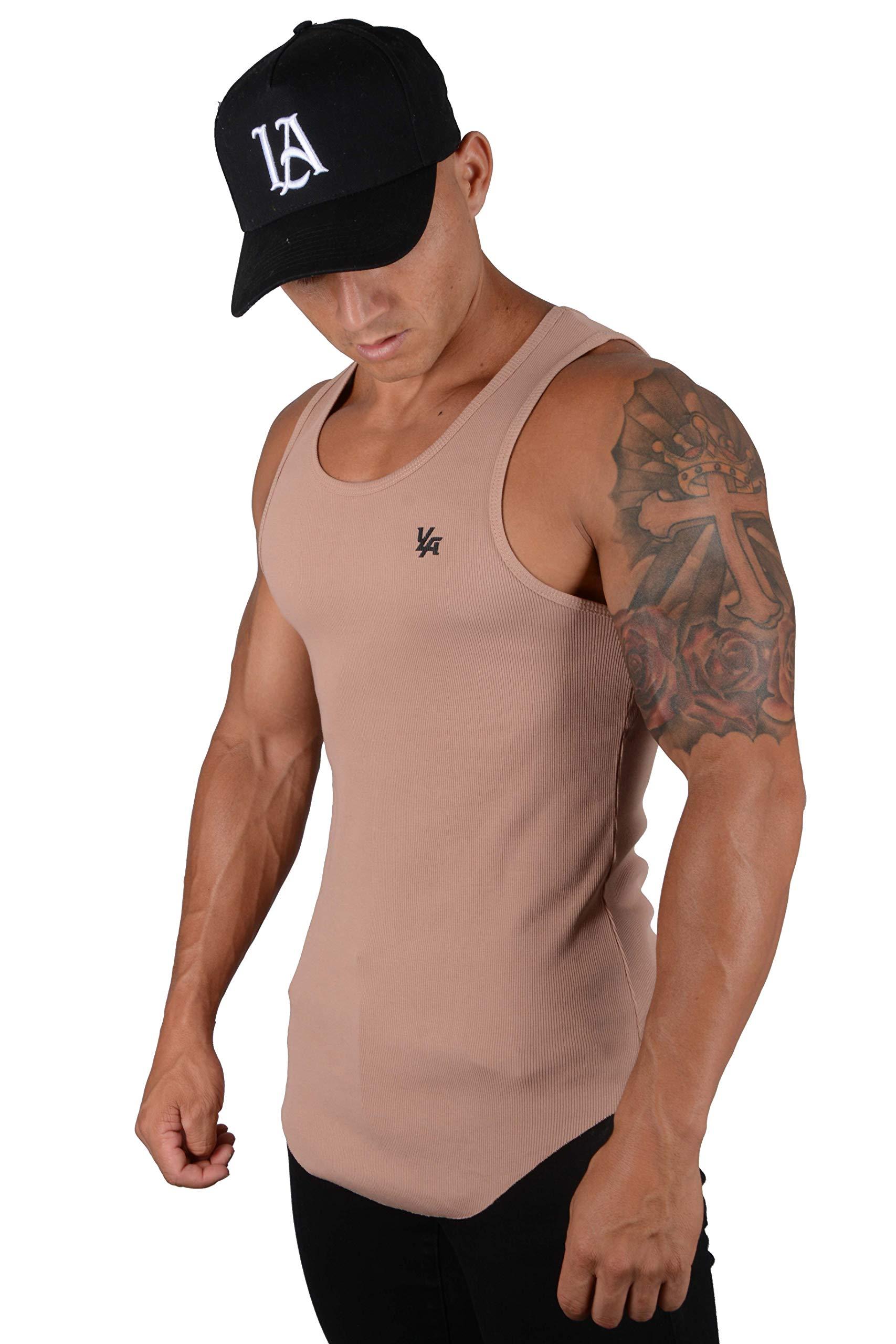 YoungLA Tank Tops Men Workout Muscle Shirts Gym Bodybuilding 314