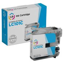 LD Compatible Ink Cartridge Replacement for Brother LC101 (Cyan, Magenta, Yellow, 3-Pack)