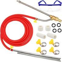 Angela&Alex Pressure Washer Sandblasting Kit, Wet Sandblaster Attachment, 5000 PSI, 1/4 Inch Quick Disconnect