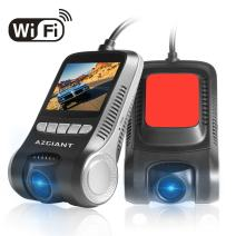"""AZGIANT Dash Cam for Cars, HD 1080P WiFi Car Dash Cam Pro, 2"""" LCD 170 Degree Dash Camera with Night Vision, Loop Recording, Parking Mode, 32gb SD Card Included"""