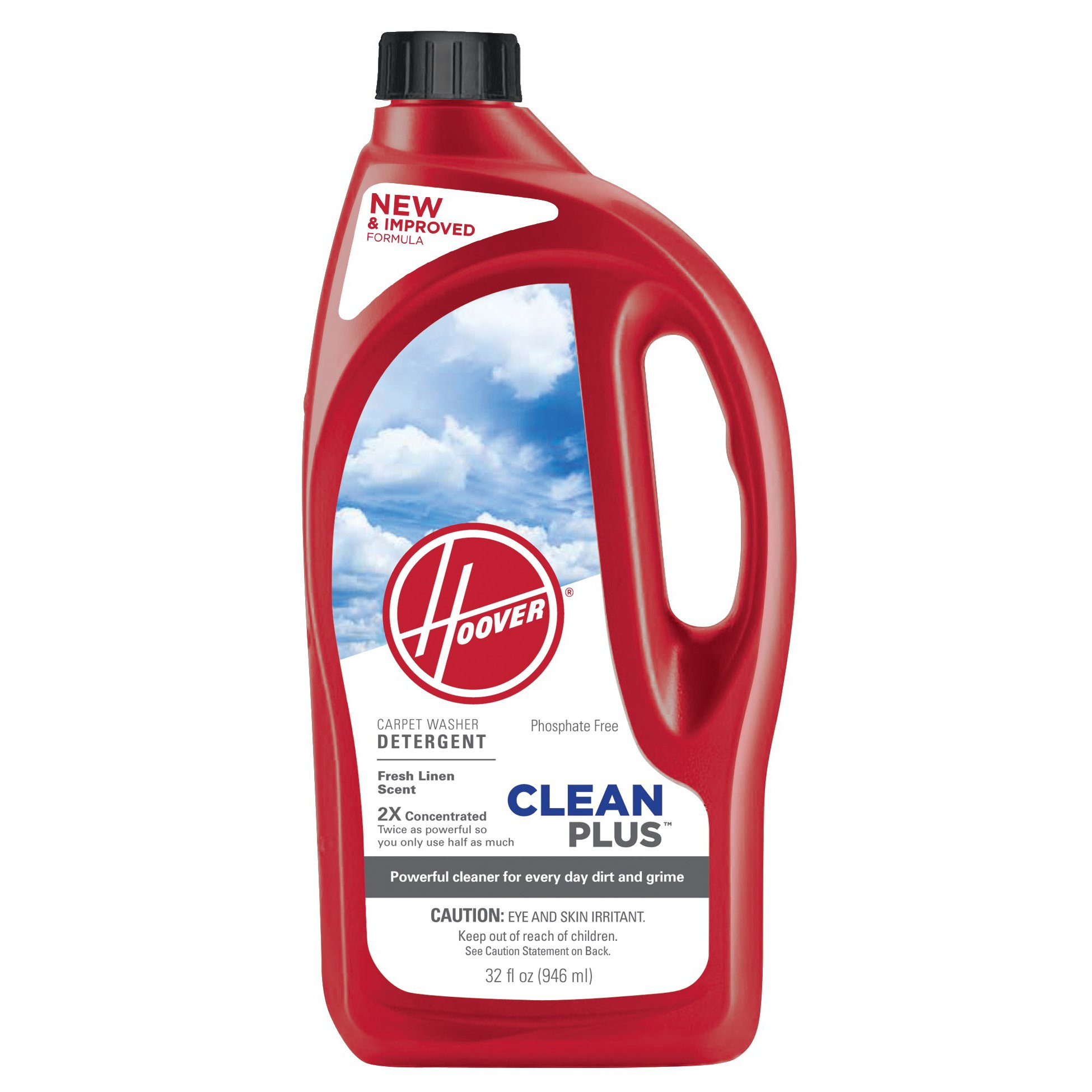 HOOVER CleanPlus Carpet Cleaner & Deodorizer 32 oz, AH30335NF
