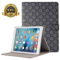 New iPad 7th Generation Case 10.2 Inch 2019, Folio Stand Cover with Auto Wake/Sleep and Multiple Viewing Angles for iPad 7th Gen (Dark-Gray)
