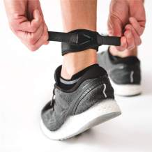 CROSSTRAP Achilles Strap | Achilles Support to Prevent Achilles Tendonitis | Running, Cycling, Hiking, Sports