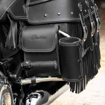 Indian Genuine Leather Rear Highway Bar Bag Black - 2880297-01
