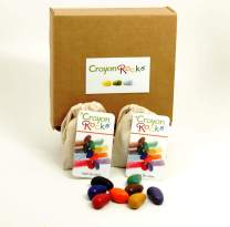 Crayon Rocks 8 Colors (Muslin Bag - 2 pack)
