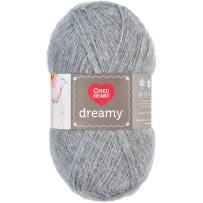 RED HEART Dreamy Yarn, Grey