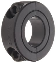 """Ruland SP-30-F Two-Piece Clamping Shaft Collar, Black Oxide Steel, 1.875"""" Bore, 2 7/8"""" OD, 11/16"""" Width"""