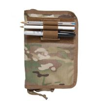 Tactical Wallet/Military Notebook Cover/Fits 4x6 Notepad/Customize with Add-ons!