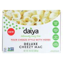 Daiya Cheezy Mac, Four Cheeze Style with Herbs :: Rich & Creamy Plant-Based Mac & Cheese :: Deliciously Dairy Free, Vegan, Gluten Free, Soy Free :: With Gluten Free Noodles, 10.6 Oz. Box (4 Pack)