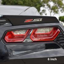 Corvette Z51 Billet Aluminum Chrome Plated Badge/Emblem : C6, C7 Z51 (6 inch)