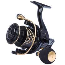 Sougayilang Grimace-YD Spinning Reel,12+1 Stainless BB Spinning Fishing Reel,Ultra Smooth Powerful, Lightweight Graphite Frame, CNC Aluminum Spool for Saltwater Freshwater