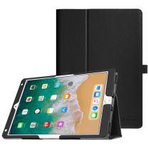 "Fintie Folio Case for iPad Air (3rd Gen) 10.5"" 2019 / iPad Pro 10.5"" 2017 - [Corner Protection] Premium PU Leather Smart Folio Cover with Pencil Holder, Auto Sleep/Wake, Black"