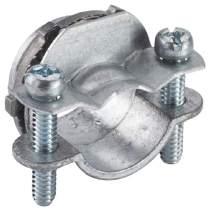 Halex, 3/4 in. Non-Metallic (NM) Twin-Screw Clamp Connectors , 20512, 5 per pack