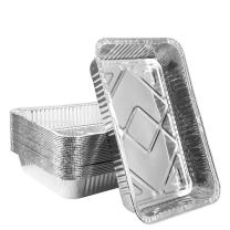 Disposable Aluminum Foil Pans,Fohuas Sturdy Half Size Deep Steam Table Pans Freezer,Oven Safe Portable Food Storage Containers for Baking, Cooking, Roasting & Reheating(12 .5X 8.5,24 Pack)