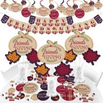 Big Dot of Happiness Friends Thanksgiving Feast - Friendsgiving Party Supplies - Banner Decoration Kit - Fundle Bundle