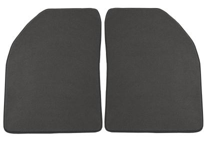 Nylon Carpet Coverking Custom Fit Rear Floor Mats for Select Honda CR-V Models Black