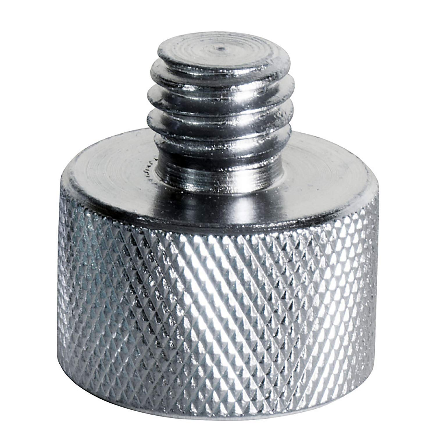 """On-Stage MA-100 3/8"""" Male to 5/8"""" Female Mic Screw Adapter"""