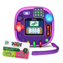 LeapFrog Rockit Twist Handheld Learning Game System, Purple and 2-Game Pack: Cookie's Sweet Treats and Dinosaur Discoveries