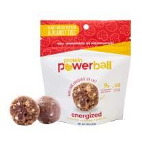 Protein Power Ball Healthy Snacks - Single Serving Packs - Gluten Free, Dairy Free, Soy Free, Vegan, Energy Bites (Maple Dark Chocolate Sea Salt, 6 Pack)