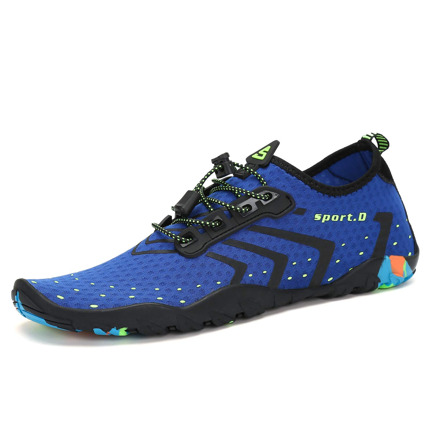 Seabone Unisex Barefoot Outdoor Quick-Dry Water Shoes Womens Mens for Aqua Beach Vacation Swim Diving Surf Yoga