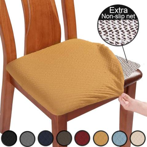 Ue Chair Covers For Dining Room, Dining Room Chair Seat Cushion Covers